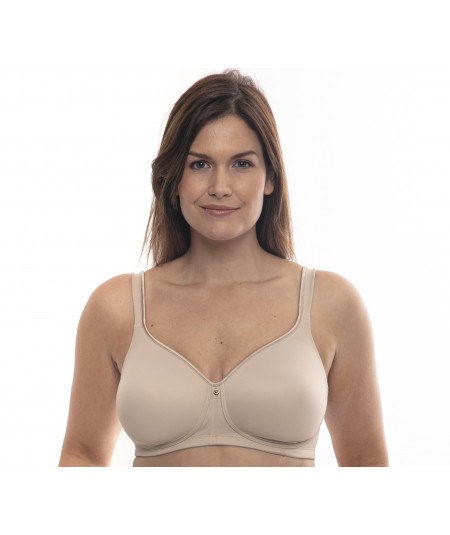 Super comfortable wireless bra with cups